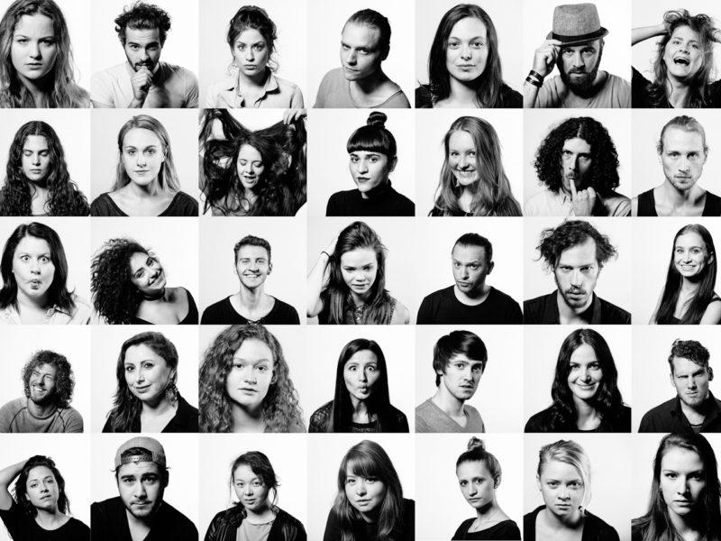 Porträts der Schauspielschüler der TAK SS2016